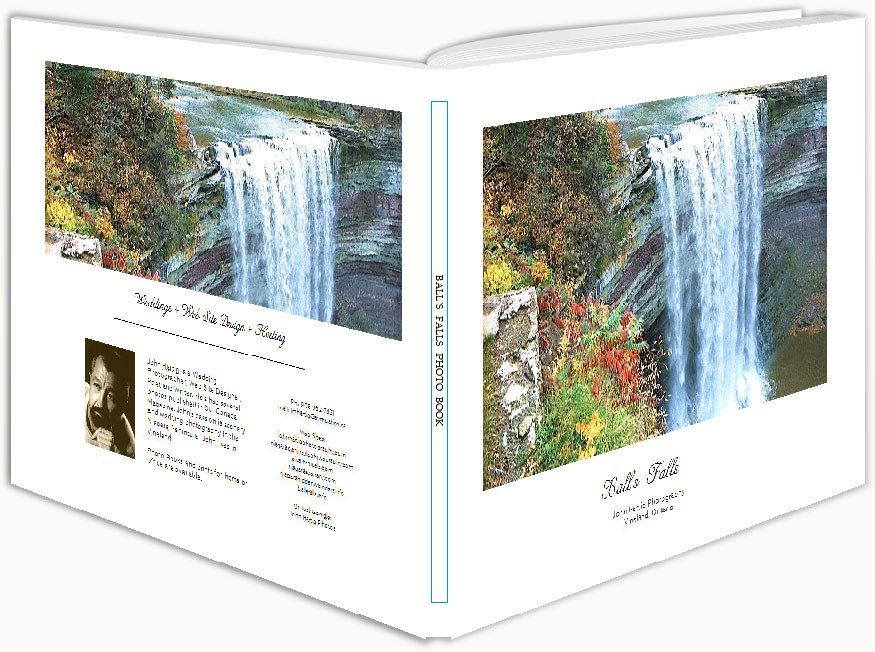 Niagara Scenery | Ball's Falls Photo Book